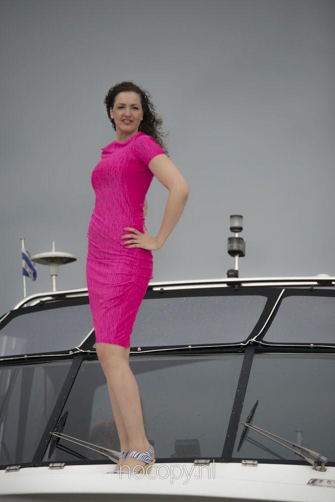 Pink tall Lady