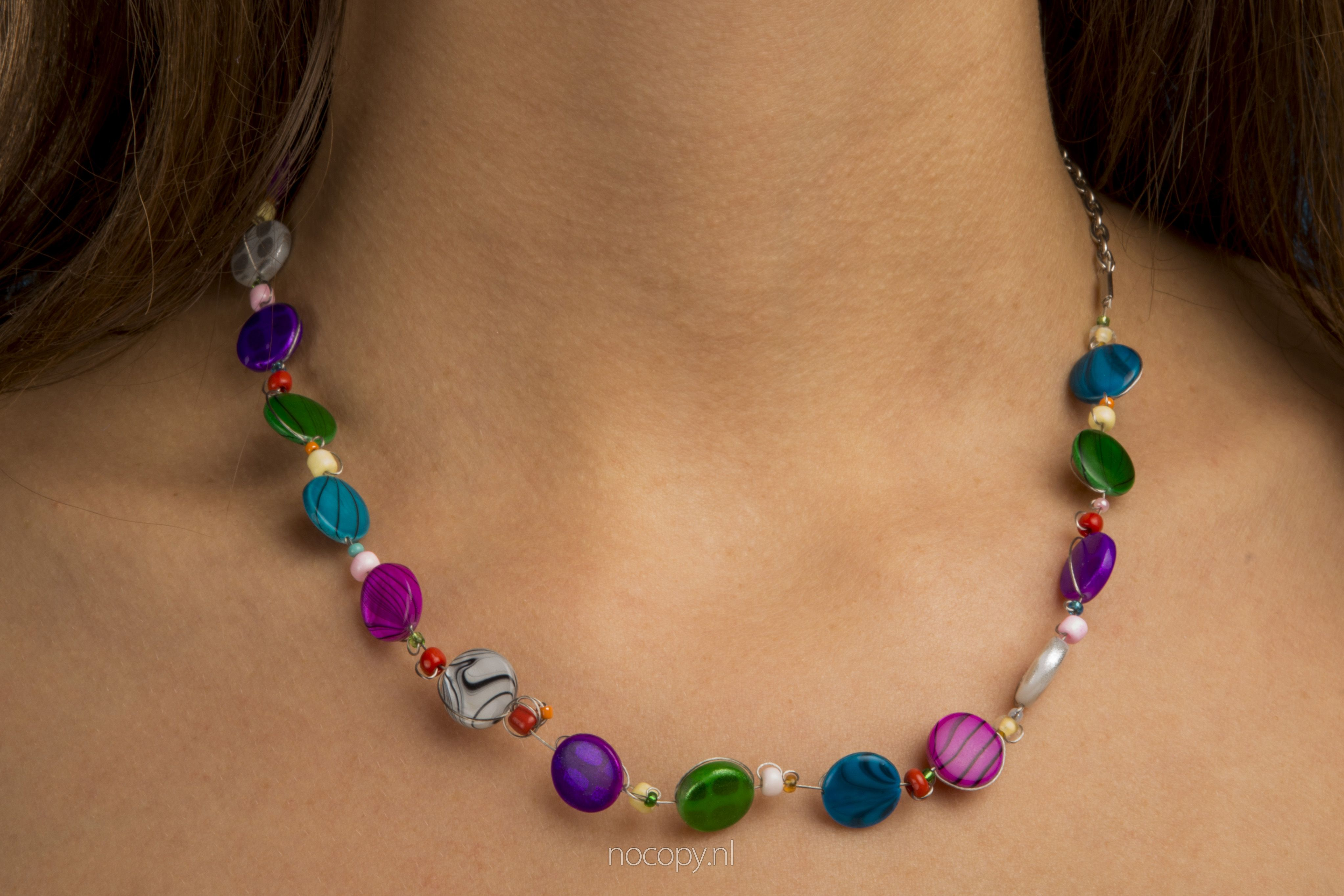 Ketting colorful rainbow