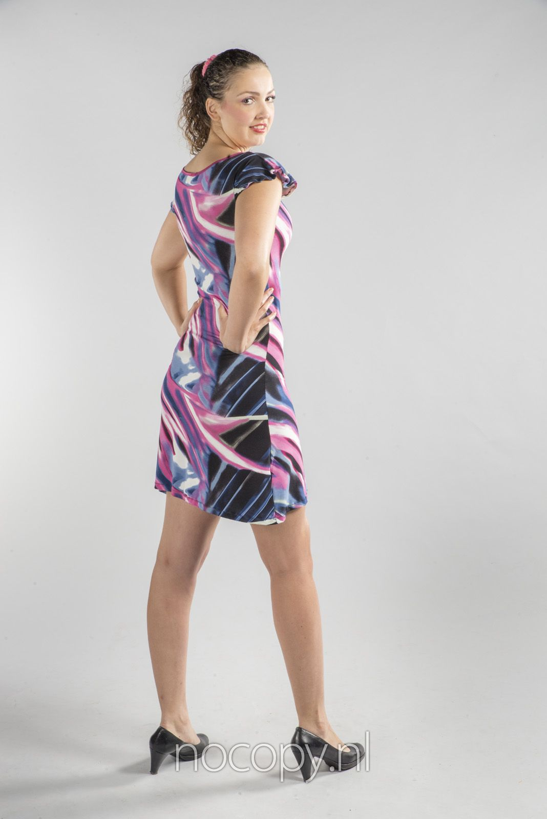 Gekleurde dream jurk