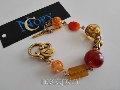 Bomb glass bracelet