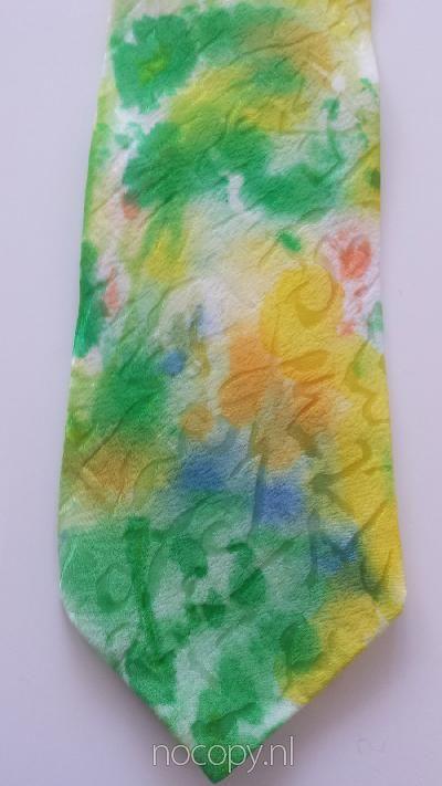 Green garden tie